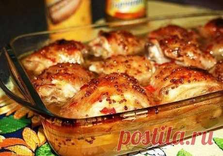 Как вкусно запечь куриные бедрышки: диетический рецепт | Худею со вкусом | Яндекс Дзен