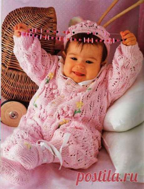 """Красивый комплект для новорожденного » Сайт """"Ручками"""" - делаем вещи своими руками"""