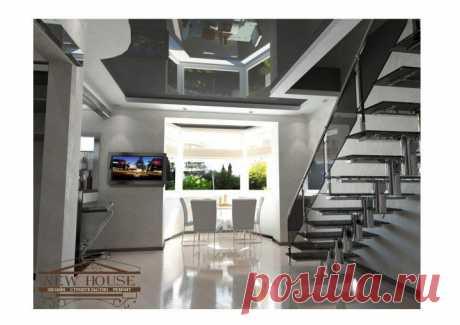 - Дизайн квартиры в стиле Хай тек