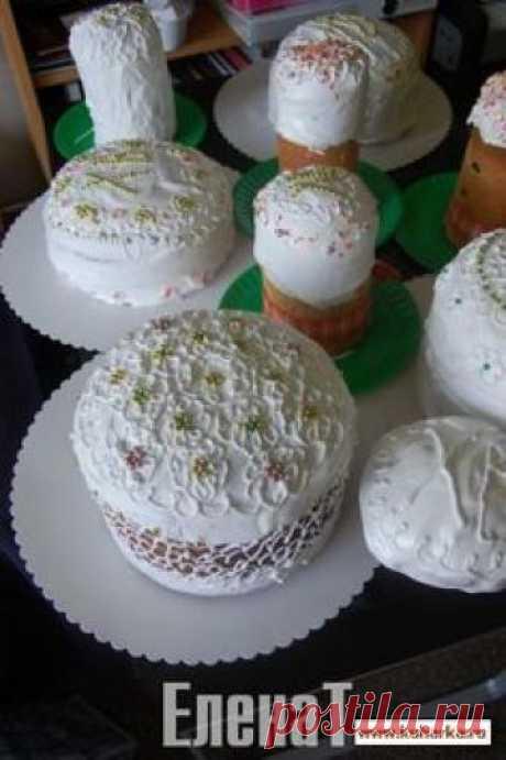 Ideyki a la PASCUA (la idea adornamiento de las tortas, las roscas de Pascua y otra cocción)