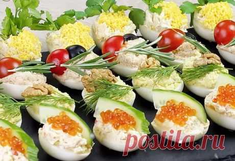 Рецепты оригинальных начинок для фаршировки яиц на праздничный стол