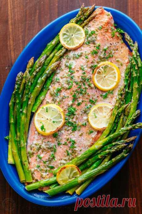 Блюда из лосося - подборка праздничных и повседневных рецептов