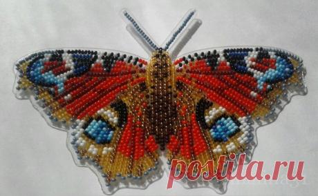 Моё бисерное настроение. Вдохновляюсь красивыми бабочками и поднимаю себе настроение | Мои непослушные крестики | Яндекс Дзен