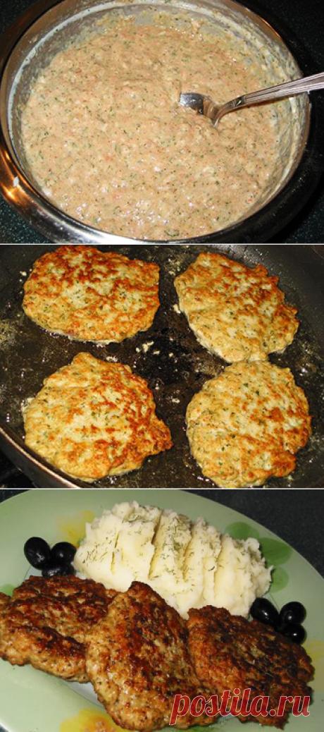 Узнав этот рецепт, больше не делаю котлеты. Попробуйте мясные оладушки на кефире — В Курсе Жизни