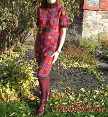 Patchwork от Kaffe Fassett. 3 платья