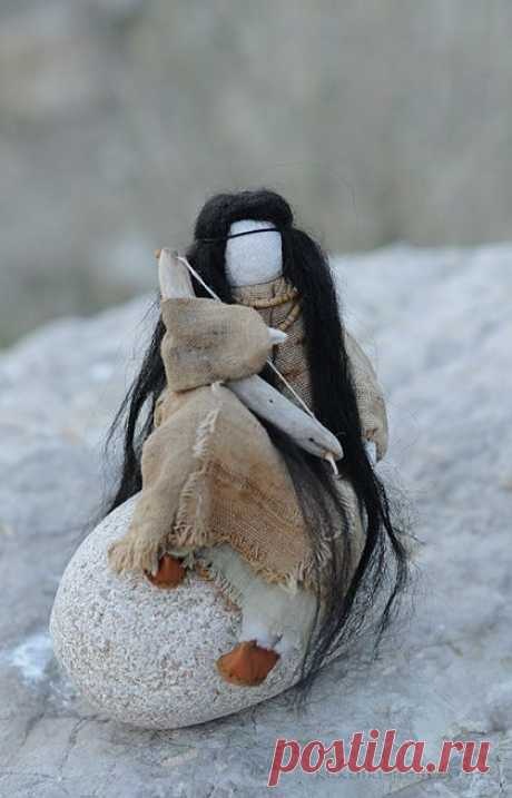 """Кукла-образ """"Маленькая Ю"""" - кукла,кукла ручной работы,кукла текстильная"""