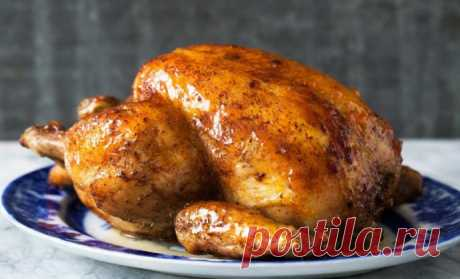 Запеченный цыпленок терияки