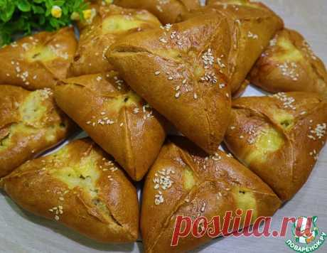 Пирожки с курицей-тесто на кефире – кулинарный рецепт