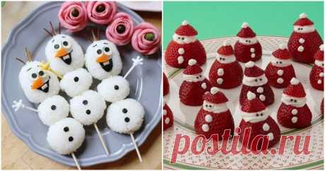 С такой подачей новогодних блюд праздничное настроение обеспечено
