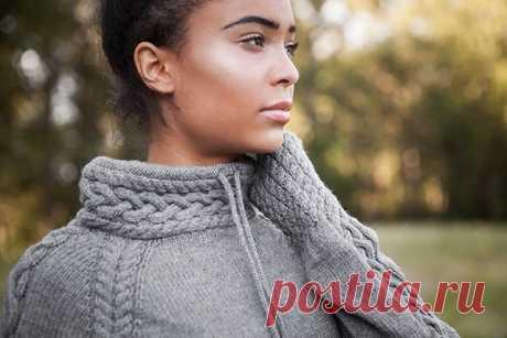 """Женский пуловер """"Harley"""" из категории Интересные идеи – Вязаные идеи, идеи для вязания"""