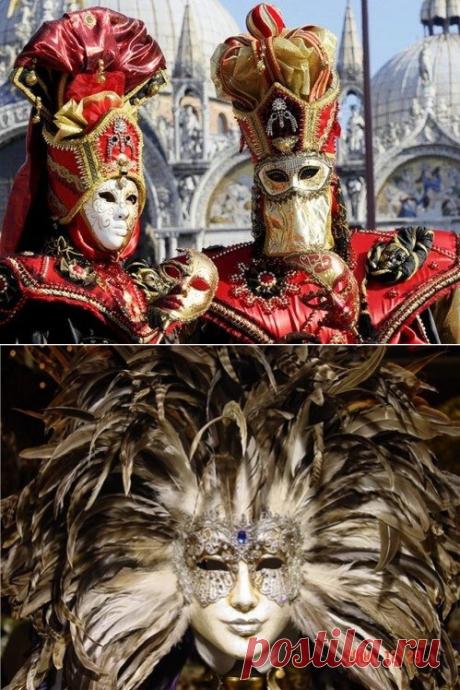 Венецианские карнавальные маски как искусство и в фотографиях | Калейдоскоп новостей | Яндекс Дзен