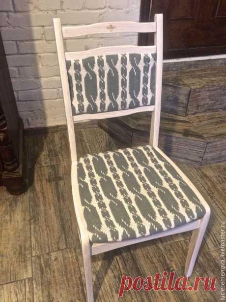 Преображение старого стула: и снова как новенький!