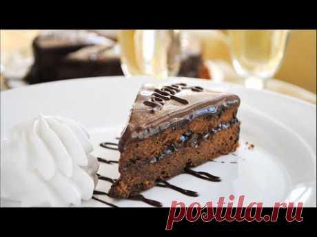 Шоколадный торт ЗАХЕР 🌟 Sachertorte - YouTube