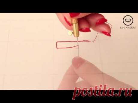 Люневильская вышивка - Урок 4: Углы и развороты