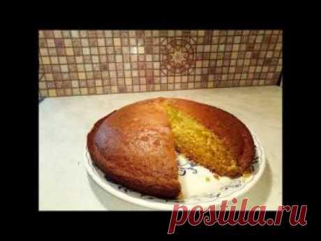 Рецепт воздушного пирога на кефире, на скорую руку