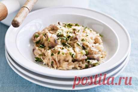 Ризотто с курицей и грибами — Sloosh – кулинарные рецепты