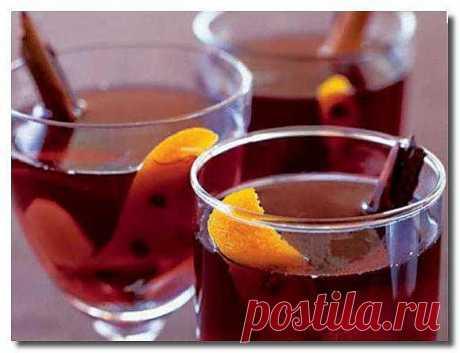 Recipe of nonalcoholic mulled wine.