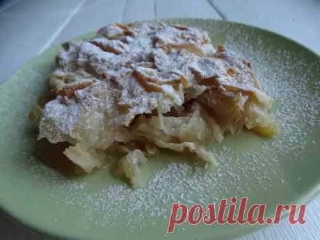 «Шифоновый пирог с яблоками» — долго училась его готовить, а теперь сама учу всех (Тончайшее тесто делаю сама, несложно) - Ваши любимые рецепты - медиаплатформа МирТесен