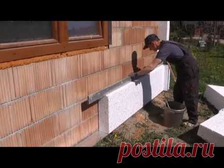 Intelligent Technology Construction Wall Insulation Fastest Easily Building Work - YouTube