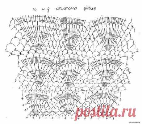 Коктейльное платье крючком отДжованны Диас со схемами. Нарядное платье крючком