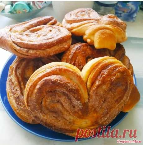 """Сахарные булочки """"Сердечки"""" с корицей - Вкусно - это просто. - Страна Мам"""