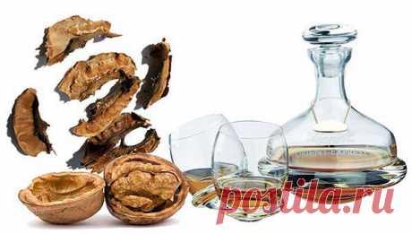 Чем полезны перегородки от грецких орехов? Рецепты настоек — Полезные советы