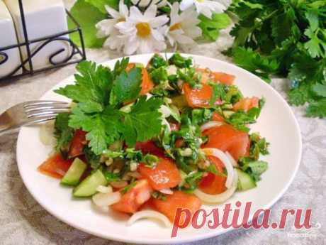 Салат к шашлыку - пошаговый рецепт с фото на Повар.ру