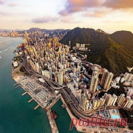 Stone jungle of Hong Kong