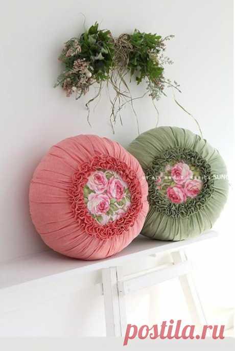 Красивая подушка — DIYIdeas