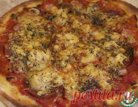 Настоящая итальянская пицца – кулинарный рецепт