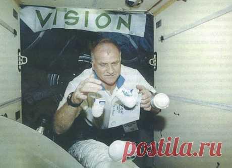 Vision в космосе.