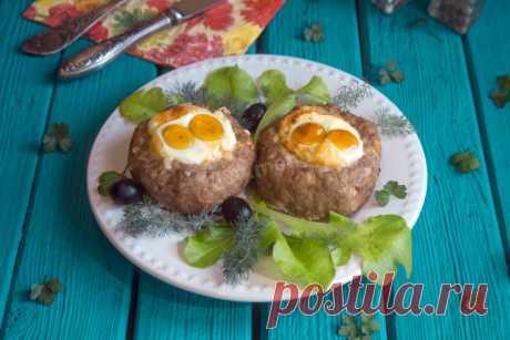 Мясные гнезда рецепт с фото пошагово и видео - 1000.menu