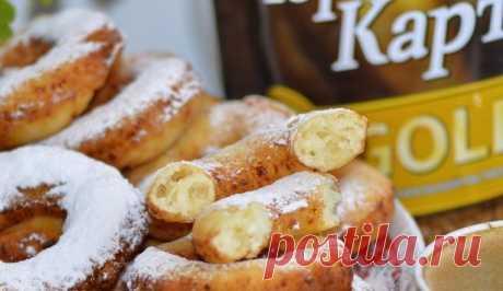 Творожные пончики — Sloosh – кулинарные рецепты