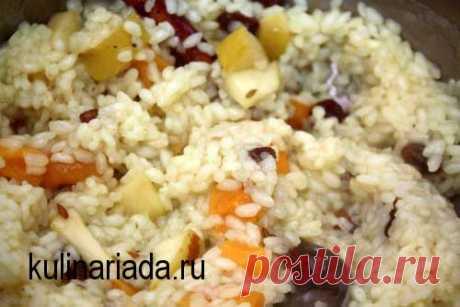 Постная рисовая каша >> Кулинариада