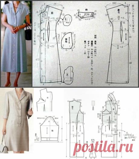 Выкройки летних платьев: 5 вариантов и для прогулок, и для офиса | Швейный омут | Яндекс Дзен