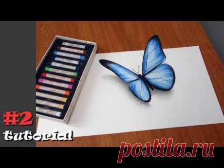 Рисунки карандашом поэтапно лёгкие для детей 9 лет