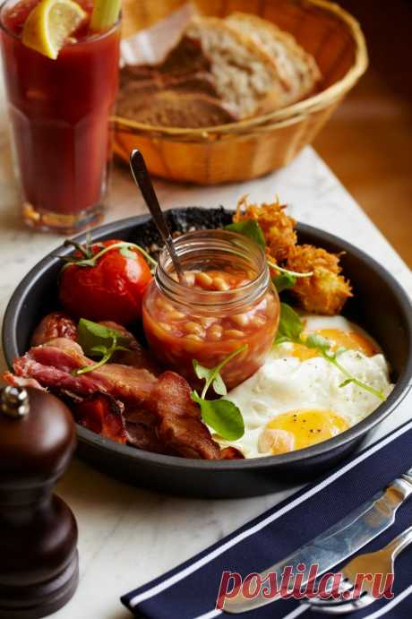 Завтрак по-английски - рецепт с фото пошагово
