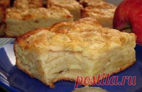 Как приготовить яблочный пирог-суфле  - рецепт, ингредиенты и фотографии