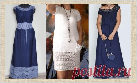 Если тебе вдруг стало мало твое новое платье - множество примеров того как увеличить ширину и длину любимых нарядов | МНЕ ИНТЕРЕСНО | Яндекс Дзен