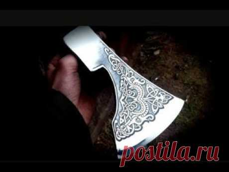 Axe Viking |  Restoration of the axe
