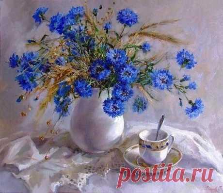 Душевные работы Светланы Родионовой / Удивительное искусство
