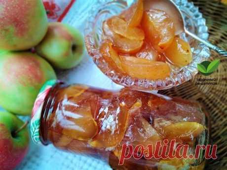 Варенье из яблок дольками – Удачный рецептик