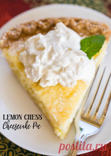 Лимонный Шахматный Чизкейк пирог | Обычная Куриный