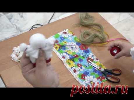 """Мастер-класс по изготовлению традиционной куклы-оберега """"Настасья на счастье"""""""