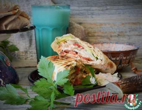 Турецкая шаверма – кулинарный рецепт