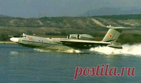 """А-40 """"Альбатрос""""(Бе-42).Многоцелевой самолёт-амфибия"""