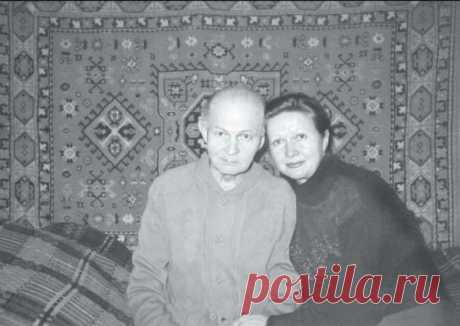 Наталья Гундарева с отцом Георгием Макаровичем