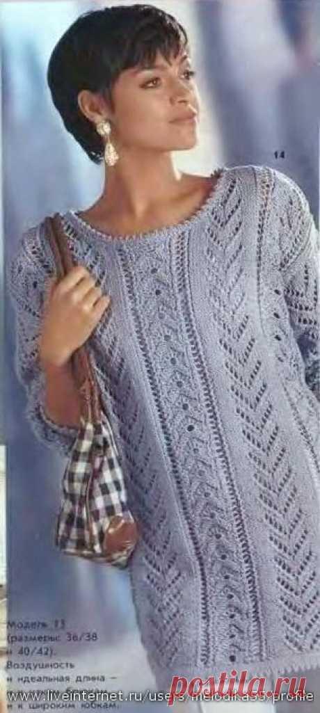 Вязание спицами-туники | Записи в рубрике Вязание спицами-туники | Дневник liudvas