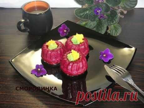 Пирожные муссовые Смородинка