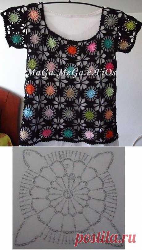 Crochet Women Bouse. Handmade. Por Illia - Diy &Amp; Crafts - Diy Crafts - bobcik
